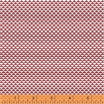 Hazel Red Triangels Yardage