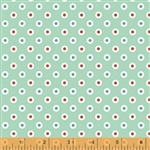 Hazel Mint Dot Yardage