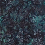 Snowbird Batiks Snowflake Late Night