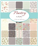 Poetry Fat Quarter Bundle by 3 Sisters