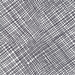 Thicket Black on White Crosshatch Yardage