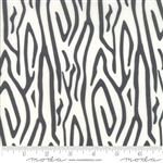 Savannah Charcoal Zebra Stripe Yardage SKU# 48222-15 Savannah by Gingiber for Moda Fabrics