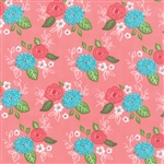Gooseberry Petal Pink Bouquet Yardage
