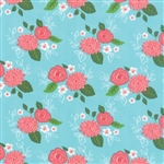 Gooseberry Sky Bouquet Yardage