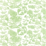 Gooseberry Leaf on Cloud Waddle Yardage