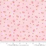 First Romance Pale Sweet Pea Corsage Yardage  SKU# 8401-26 First Romance by Kristyne Czepuryk for Moda Fabrics