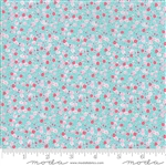First Romance Blue Eyes Sweetheart Yardage  SKU# 8402-16 First Romance by Kristyne Czepuryk for Moda Fabrics