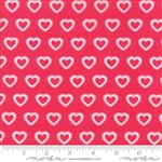 First Romance Angel Heart Paper Hearts Yardage  SKU# 8404-14 First Romance by Kristyne Czepuryk for Moda Fabrics