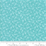 First Romance Blue Eyes Single Stem Yardage  SKU# 8405-25 First Romance by Kristyne Czepuryk for Moda Fabrics