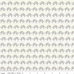 Oh Boy Elephants Gray Yardage