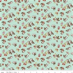 Milk Sugar Flower Milk Magpie Mint Yardage