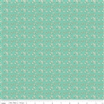 Milk Sugar Flower Milk Petals Mint Yardage