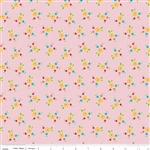 Bloom and Bliss Bloom Floral Pink Yardage