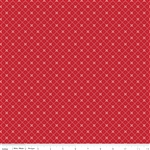 Bloom and Bliss Bloom Diamond Red Yardage