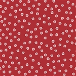 Sew Cherry 2 Daisy Red