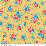 Arbor Blossom Yellow Main Yardage