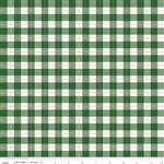 Comfort and Joy Green Plaid Yardage