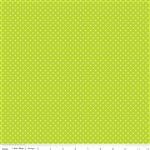 Swiss Dot Lime by Riley Blake Designs