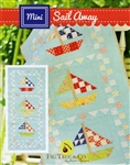 Mini Sail Away Quilt Pattern by Fig Tree Quilts