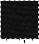 "Basic Black Flannel 43"" Yardage"