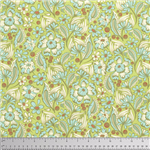 Wild Vines Yardage - Mint Chipper by Tula Pink