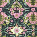 The Tortoise Yardage - Strawberry By Tula Pink