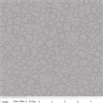 In the Ocean Bubbles Gray Yardage