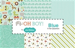 Oh Boy Blue Fat Quarter Bundle
