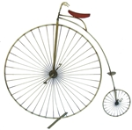 Jere bike Vintage metal sculpture