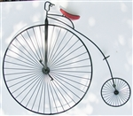 Curtis Jere Vintage Penny Farthing Wall Sculpture