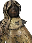 Jere Girl Vintage metal sculpture