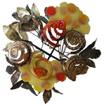 jere flowers Vintage metal sculpture