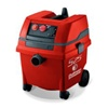 S25 HEPA vacuum with power tool outlet  -120V S25 and S50, single motor Hepa vac, can have power tools direct plugged in. Vac starts and stops on demand from the power tool. Hepa filters are individually tested and certified at 99.99% at 0.3 microns.