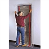 he new ZipDoor™ kit is a great way to create a dust barrier when all you need to seal is the doorway. One person can install it in under a minute. You'll save hours on jobs with lots of doors like commercial office space, hotels, hospitals, and more.