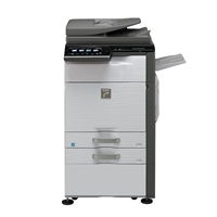 Floor Model Sharp MX-4140N Color A3 Laser Copier