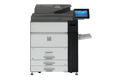 Sharp MX-M1204 Refurbished Black and White Multifunction Printer