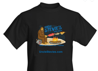 The Original Uncle Stevie's BBQ Men's T-Shirt
