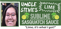 Uncle Stevie's Sublime Sasquatch Sauce