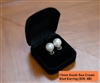 2. South Sea Pearl 13mm White - Stud Earrings
