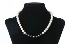 Necklace - 7 Series in White & Black (Limited Edition)