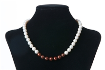 White & Brown (Limited Edition) in 7 Series - Necklace