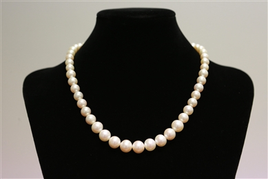 Necklace - Graduated 7 to 11mm Premium Quality