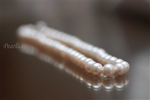 Cream White 9 mm - Pearl Necklace