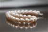 Pearl Necklace - Cream White 11 mm