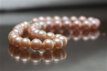Pearl Necklace - Pink 11 mm