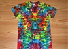 S M L Xl 2x 3x 4x 5x 6x Tie Dye Shirt, Kids, Adult, Plus size tie dye- Dark Rainbow Kaleidoscope