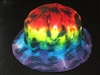 Tie Dye Bucket Hat, Cap, Head band, Skull Cap, Floppy Hat tie dye, Rainbow Layers