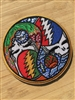 Grateful Dead Night And Day Yin Yang Stash Patch