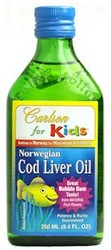 COD LIVER OIL KIDS bubble gum 250 ml