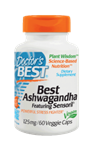 Ashwagandha featuring Sensoril 125mg, 60 veggie caps